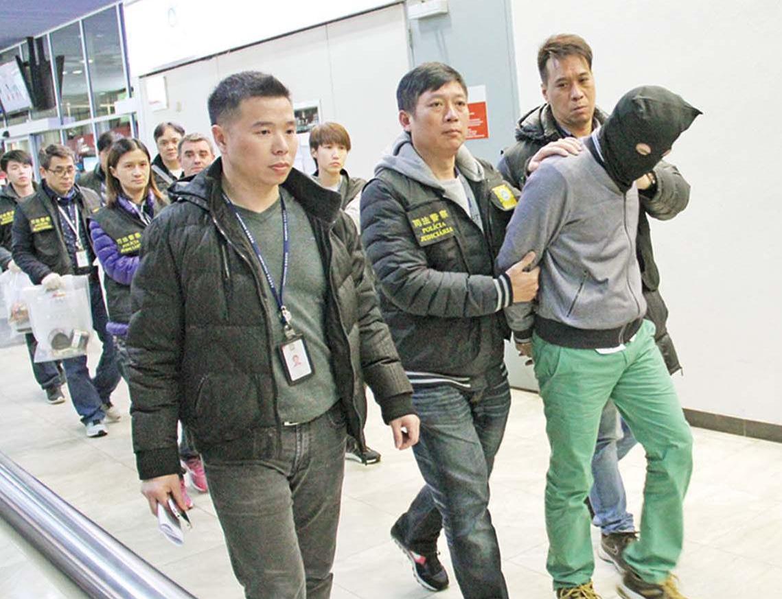 司警機場破千萬毒品案拘兩人