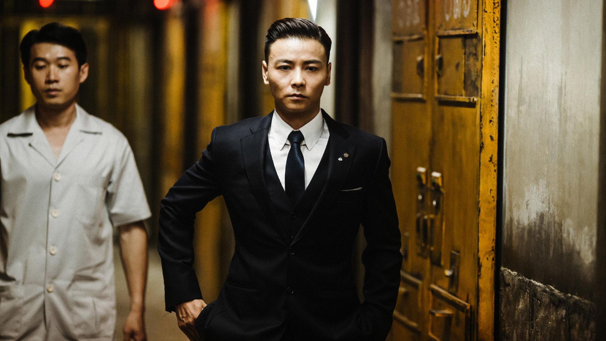 叶伟信执导,古天乐(古仔),张晋及泰国武打明星tony jaa主演的《杀破狼