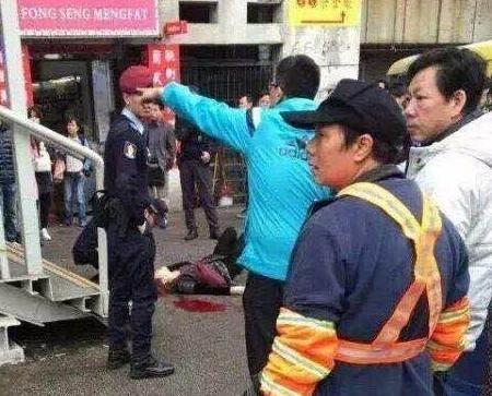 女子被斬六刀重傷 一男子被捕