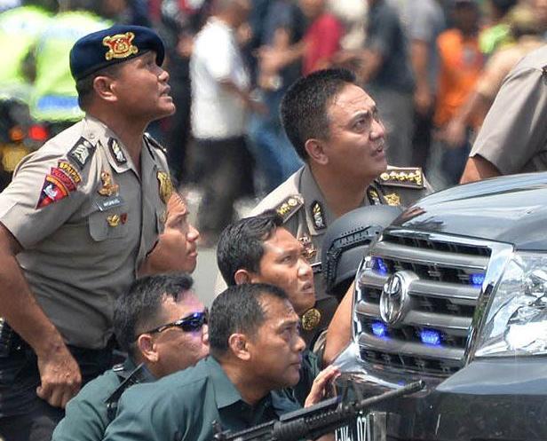雅加達爆炸案增至四死