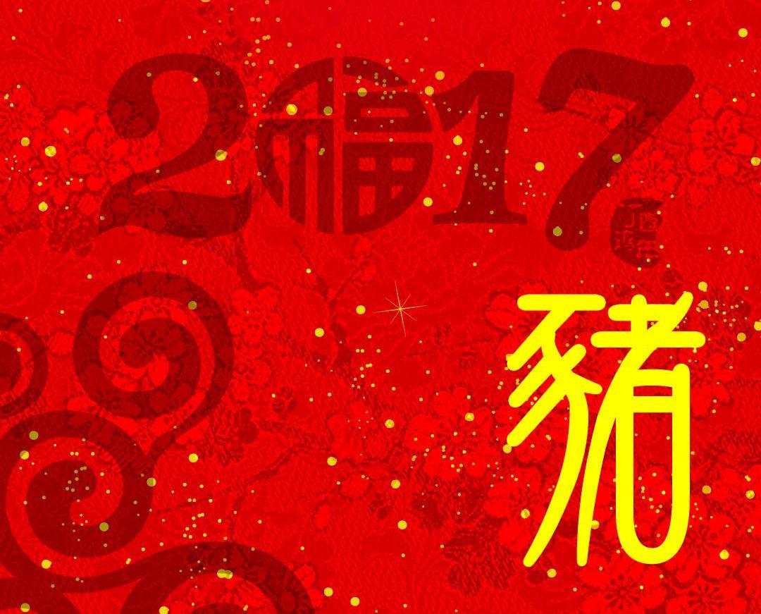 雞年十二生肖運程—肖豬運程篇