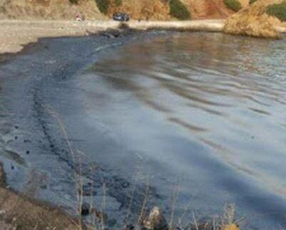 2,200噸重油洩漏污染海水
