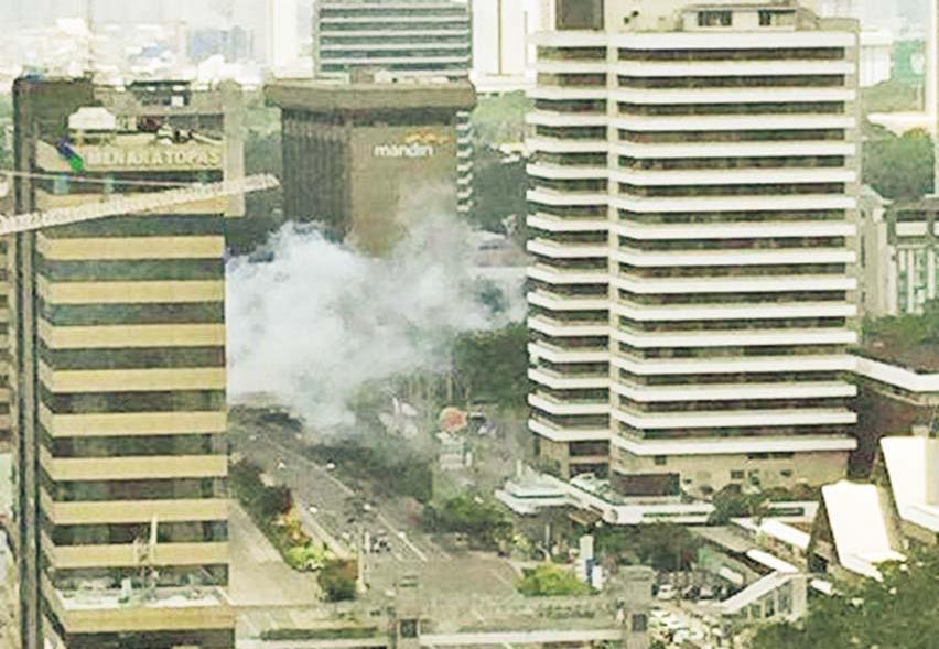 雅加達爆炸旅遊宜審慎