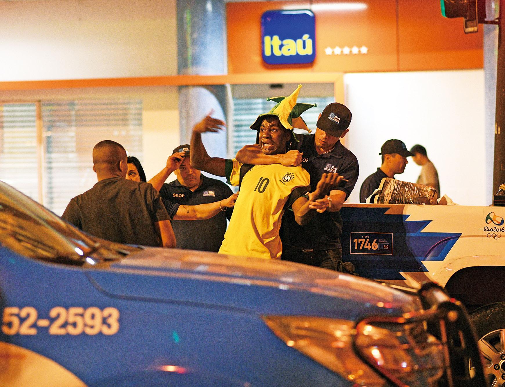 里約奧運安保危機四伏