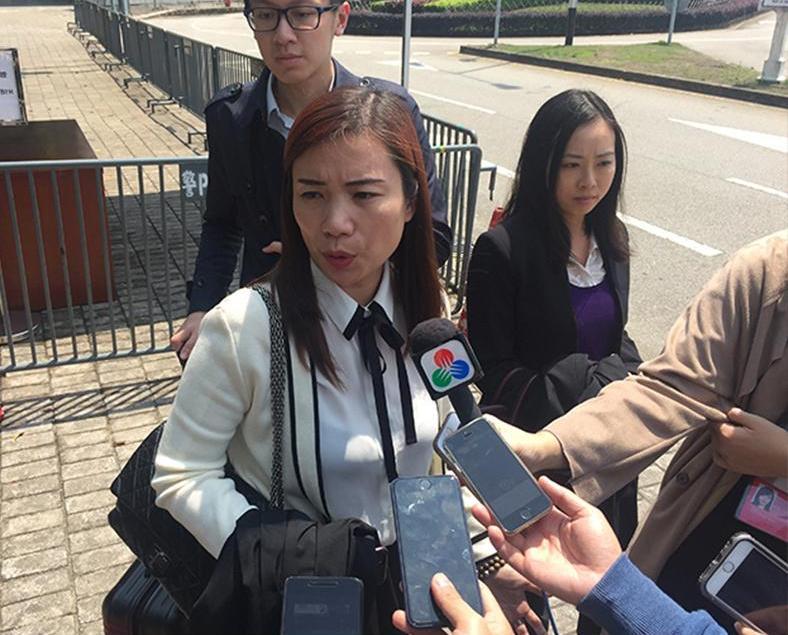 新辯護律師首次出庭表示有信心
