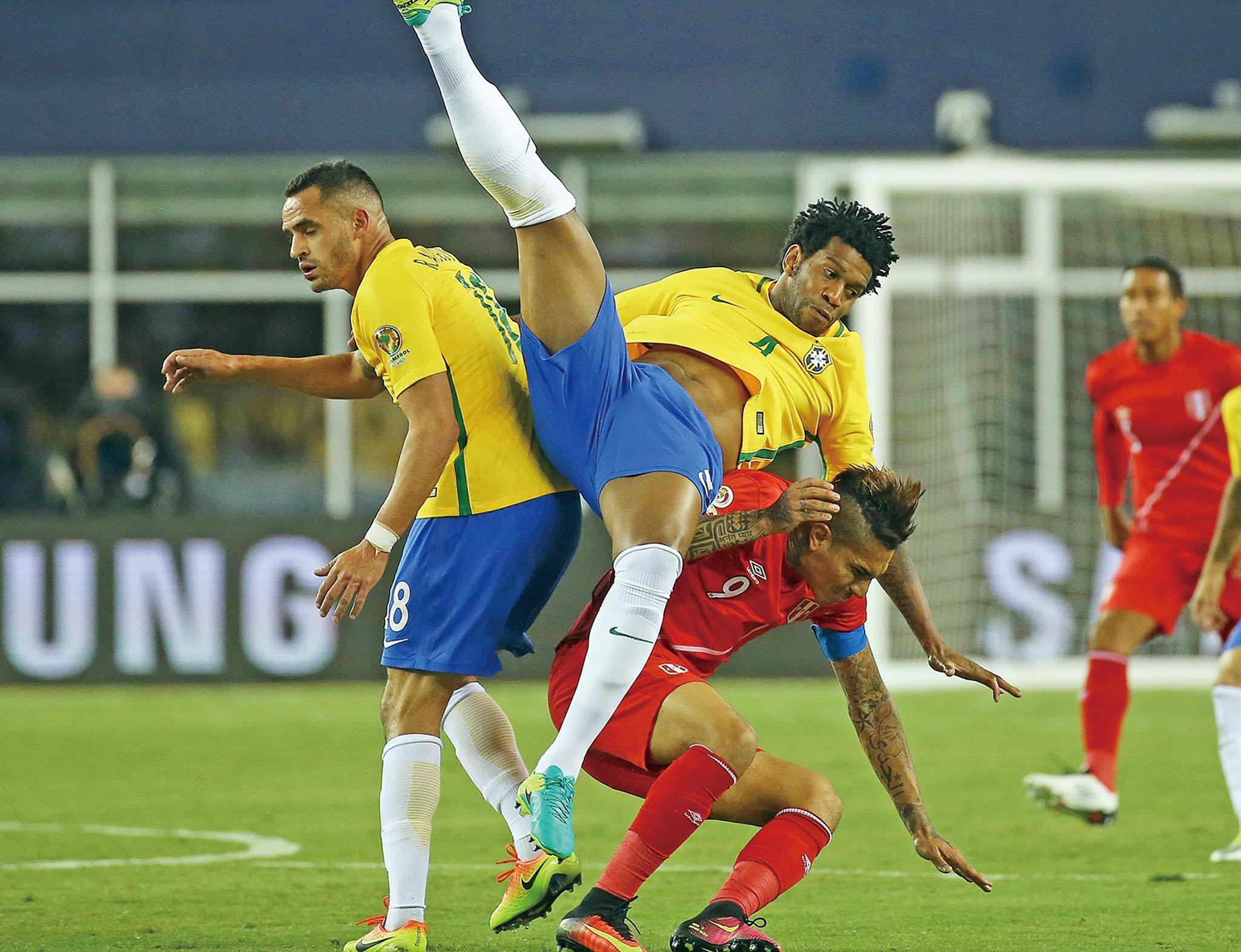 巴西出局死得冤枉