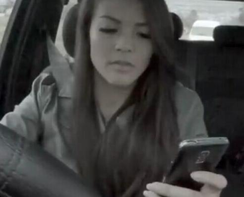 籲大家勿開車玩手機