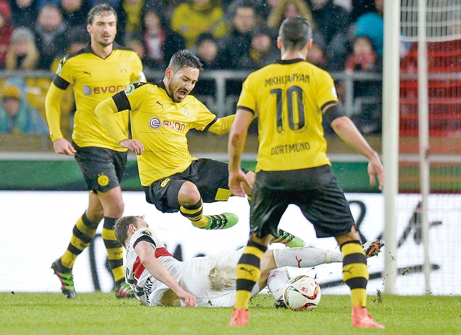 多蒙特晉級德國盃四強