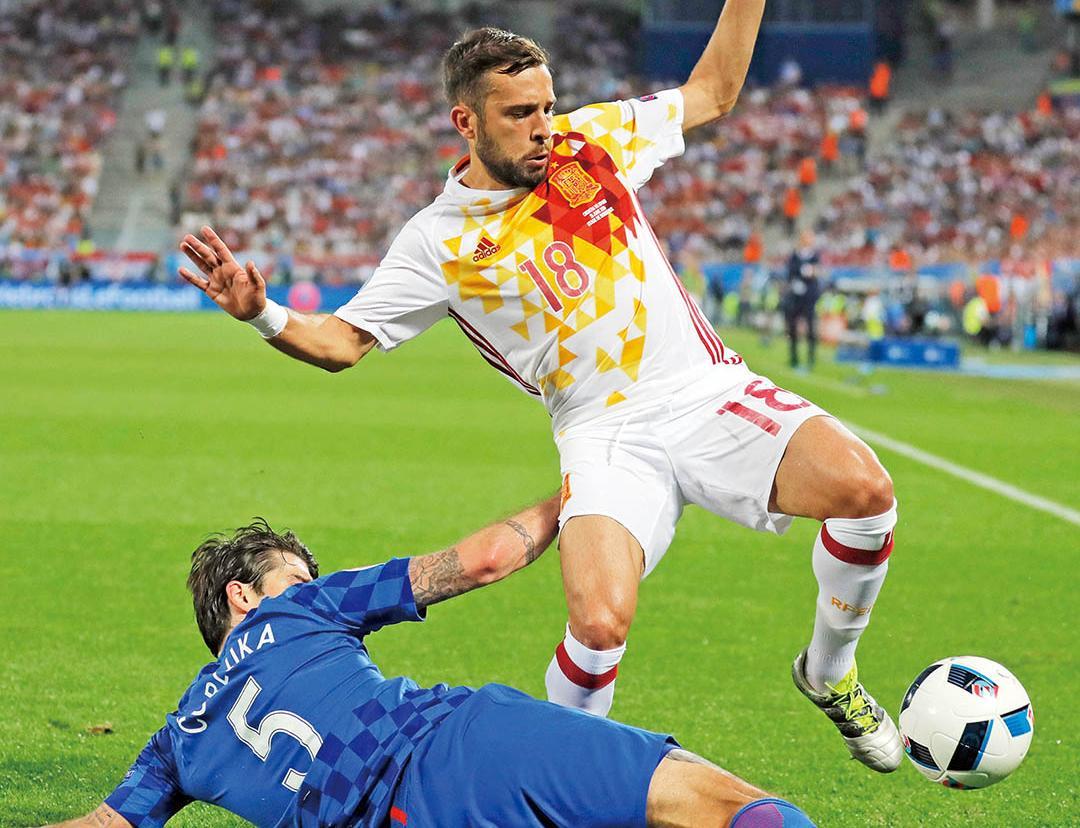西班牙16強撼意大利