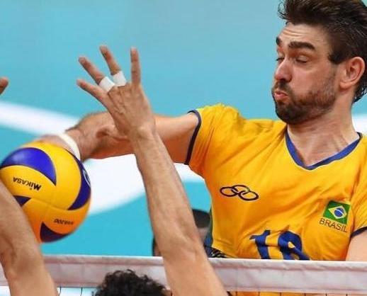 巴西男排奧運摘金