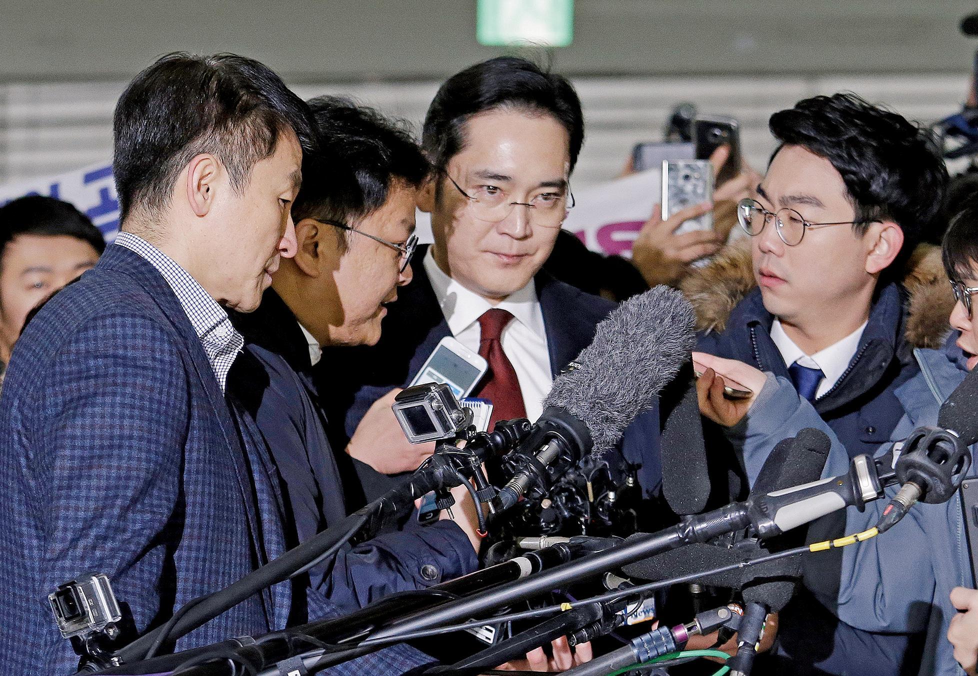 韓檢申請逮捕三星少東