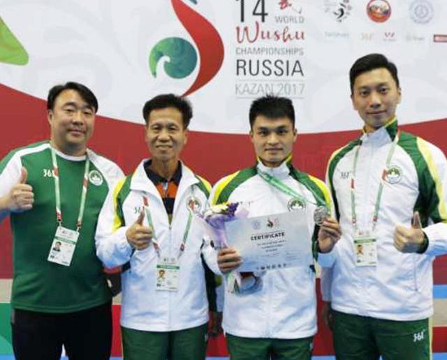 「南拳王」黃俊華超水準摘銀