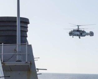 俄戰機多次飛近美艦偵察