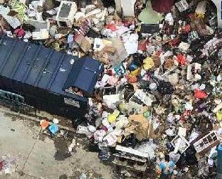 民署籲市民勿把大型垃圾棄路邊
