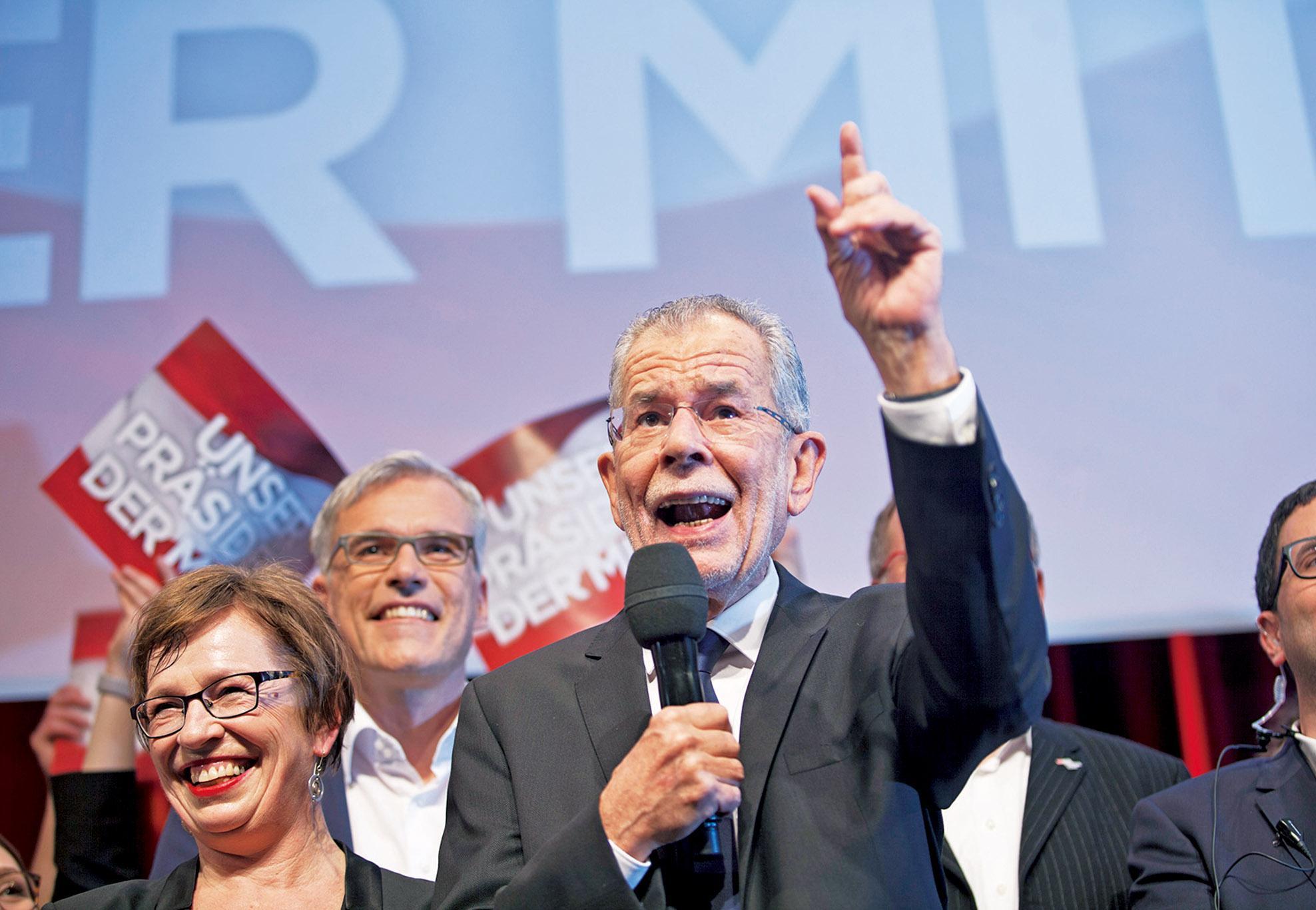 范德貝倫當選奧地利總統