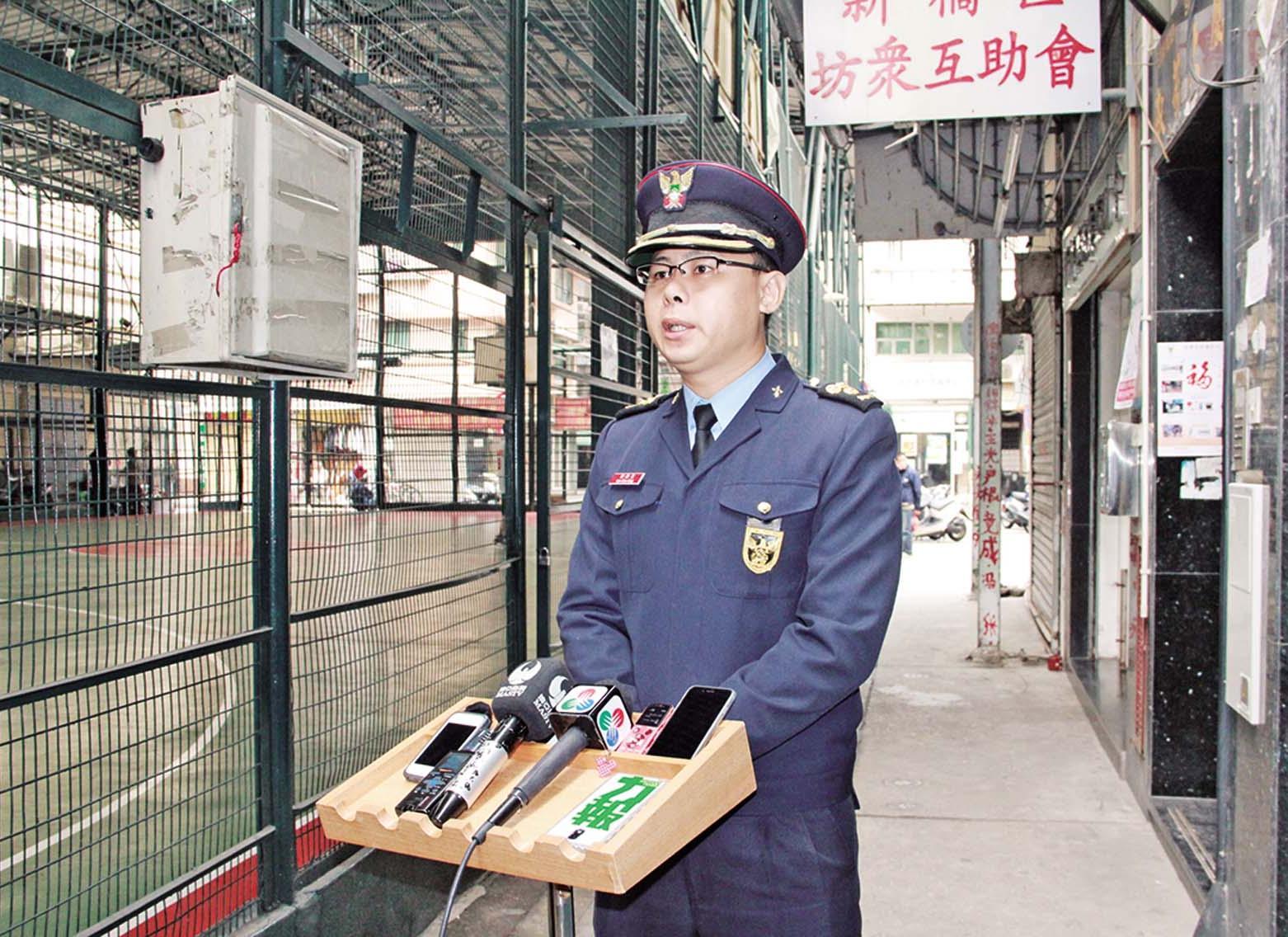 消防局落區宣傳防火
