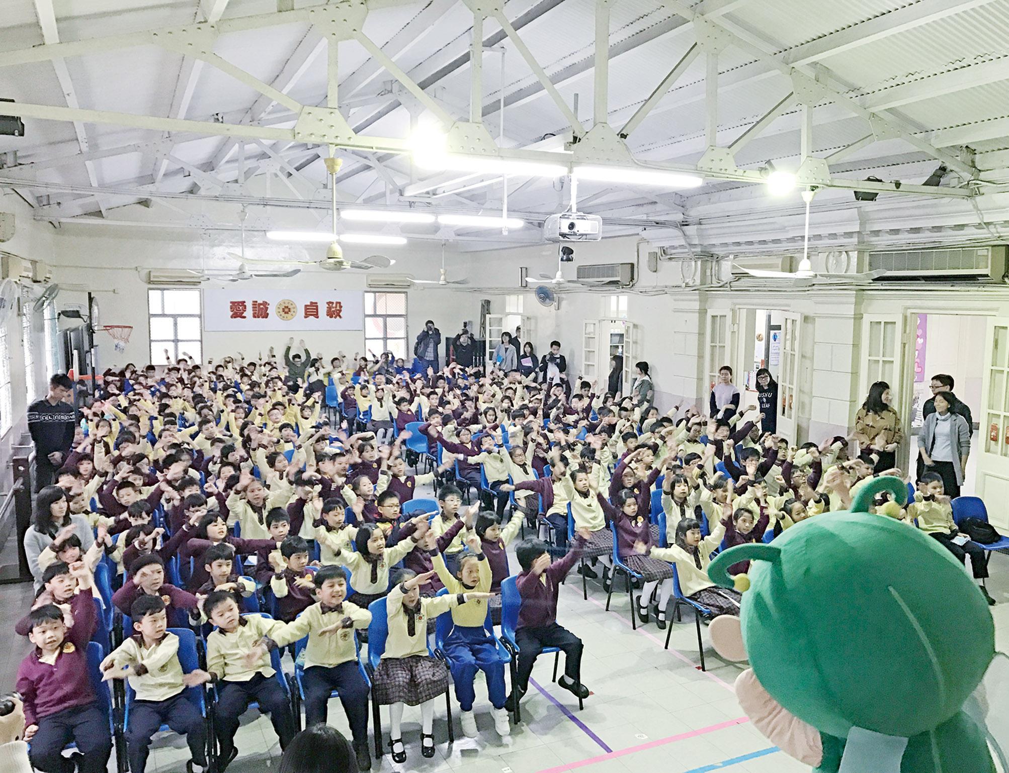 80間中小學師生參與推廣
