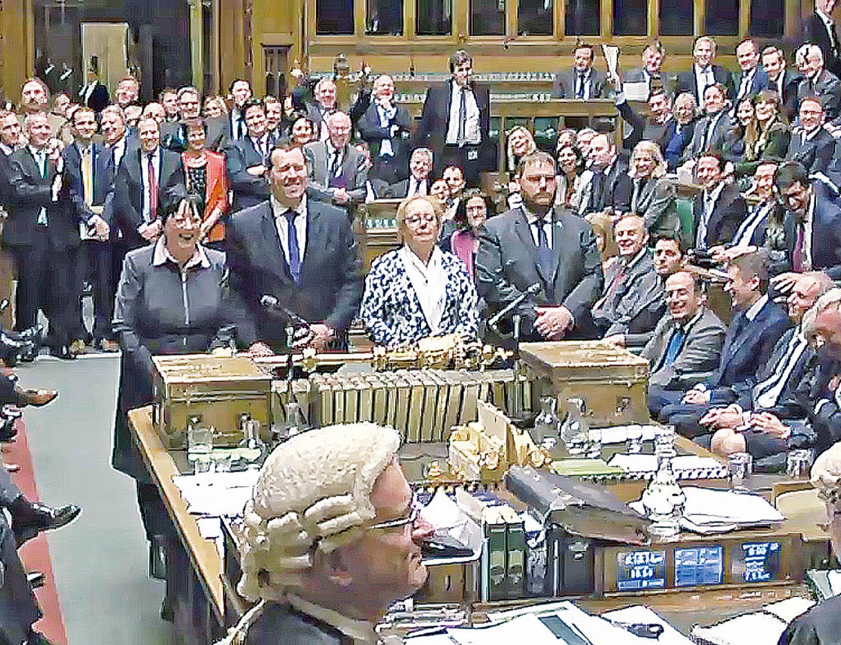 英國下議院授權政府脫歐