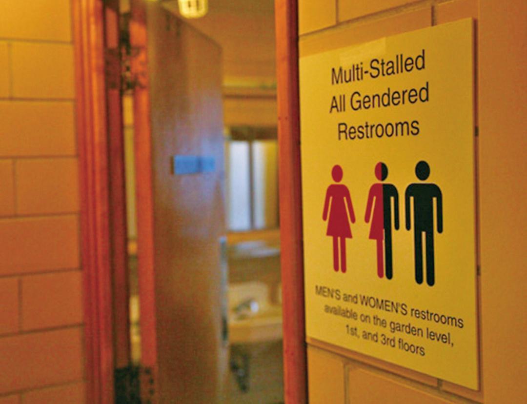 跨性別人士可自由選廁所