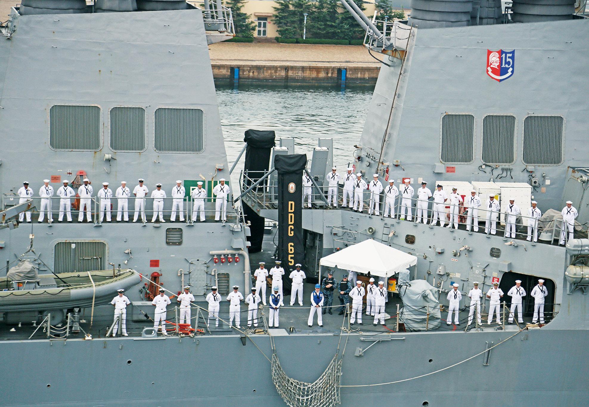 太平洋艦隊司令訪華