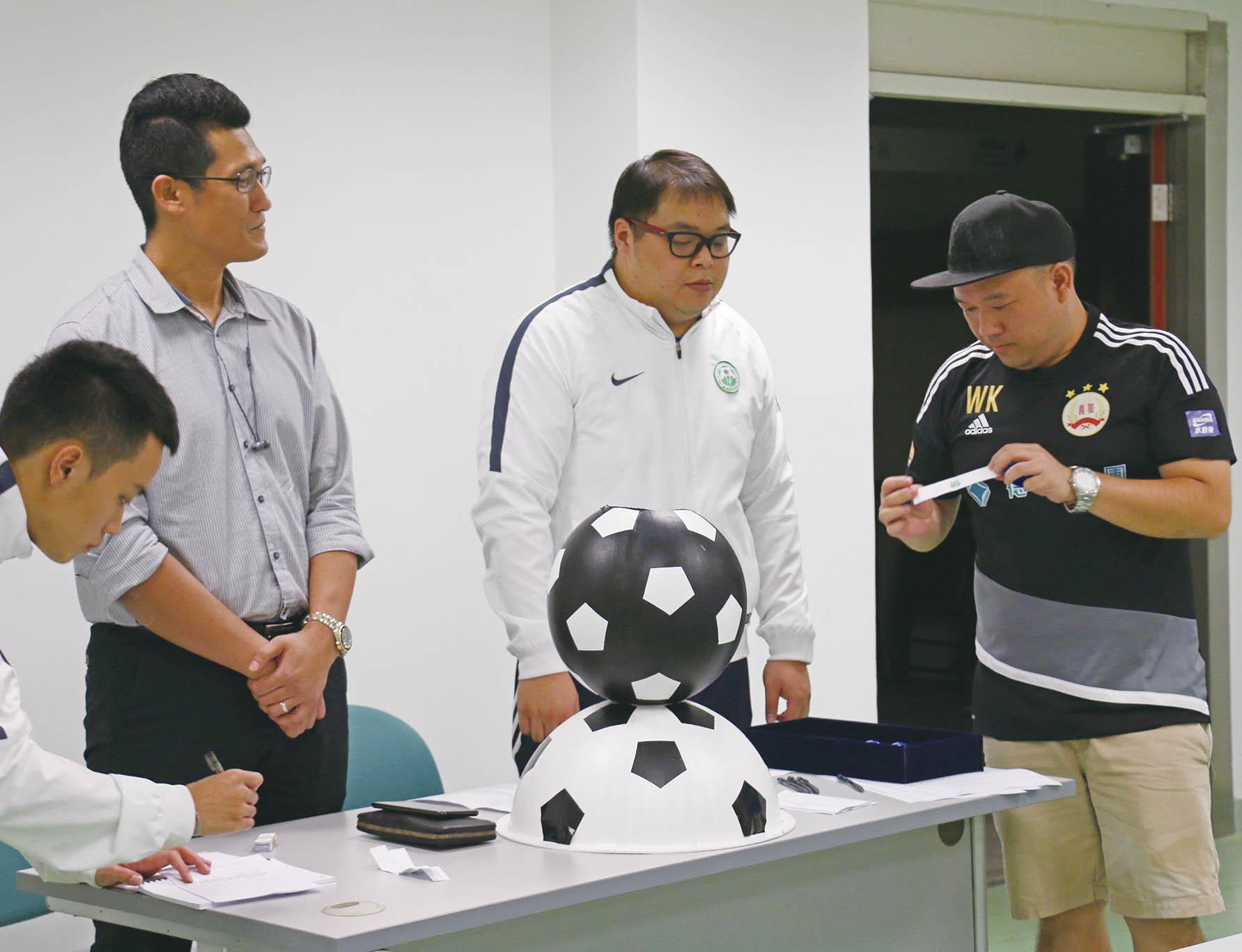 七人足球賽完成分組抽籤