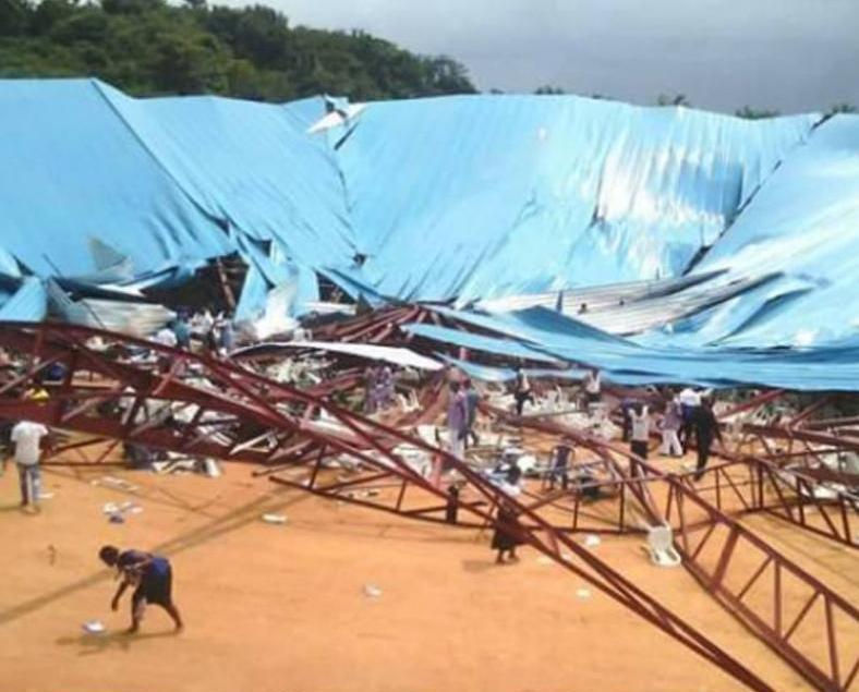 尼日利亞在建教堂倒塌160死