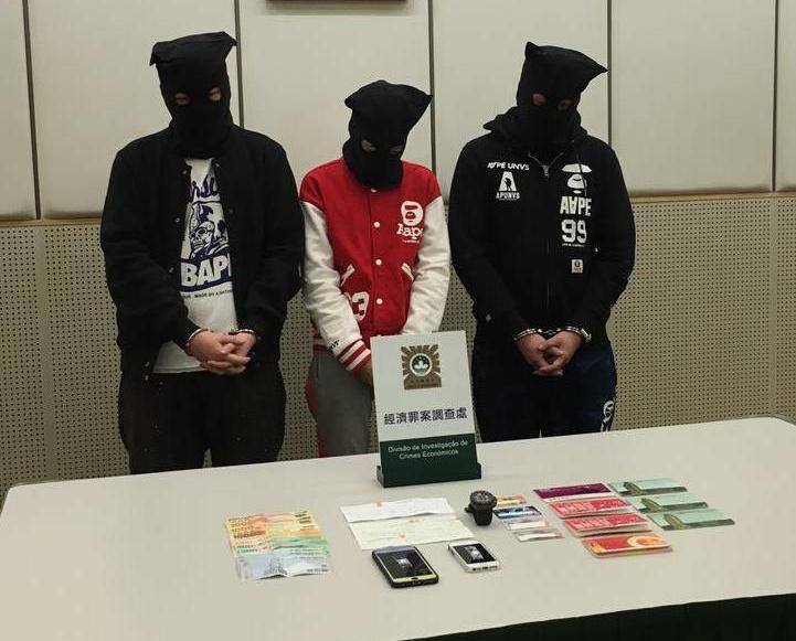 三男女詐騙逾七百萬元被捕