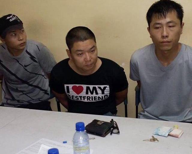 拘捕三名中國人