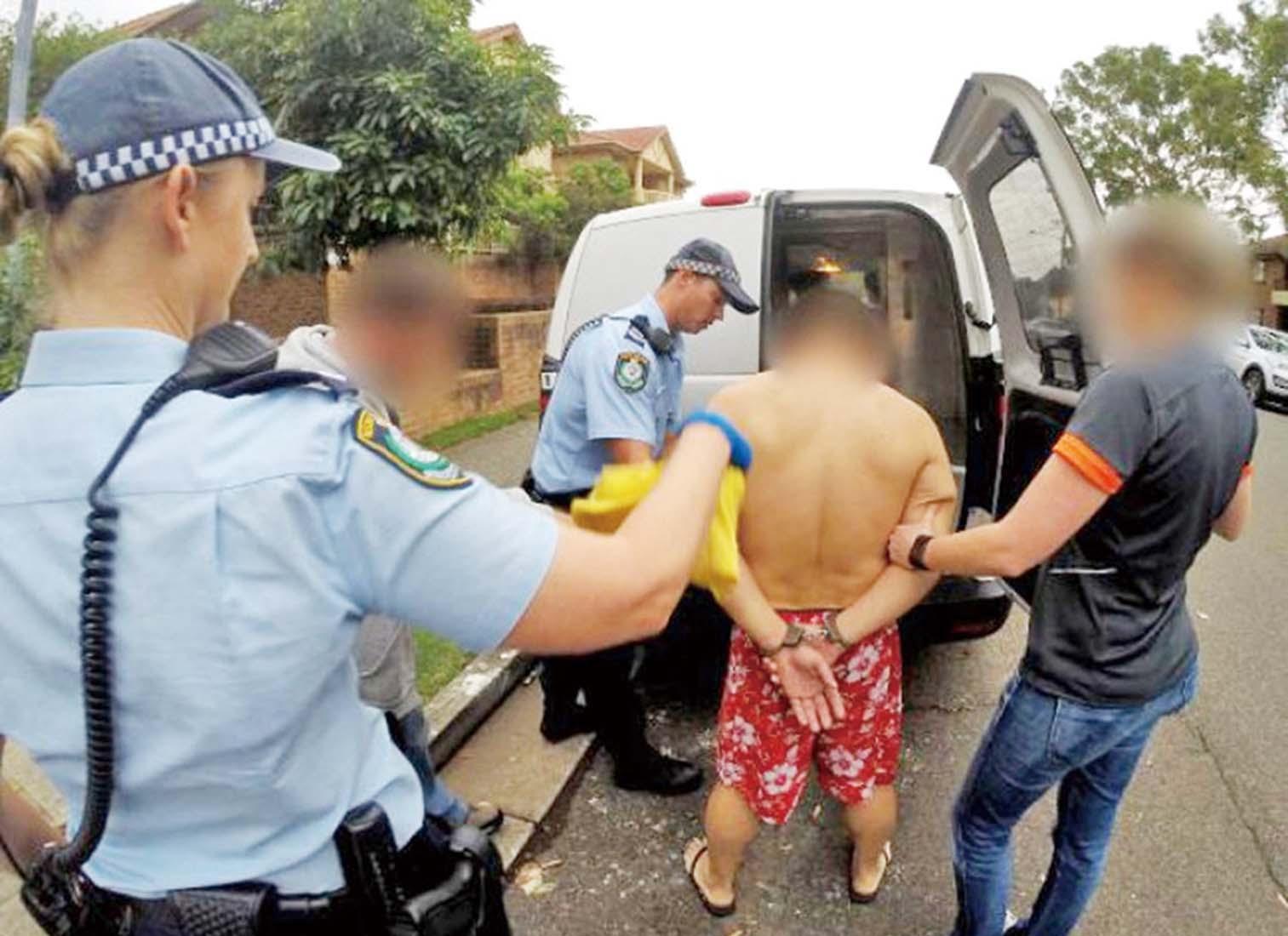 三港人被捕