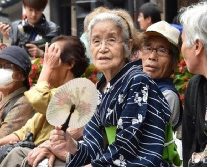 日本百歲人瑞逾6.5萬