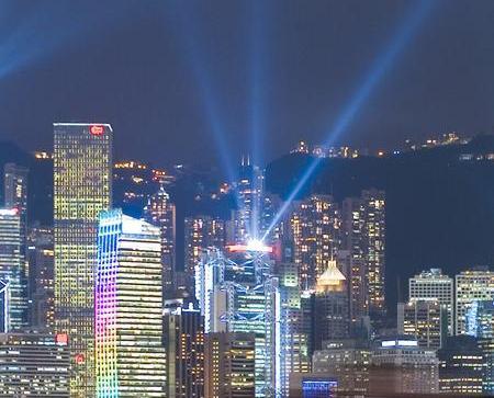 香港掛一號風球