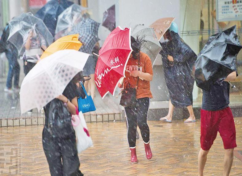 促改善熱帶氣旋預警系統