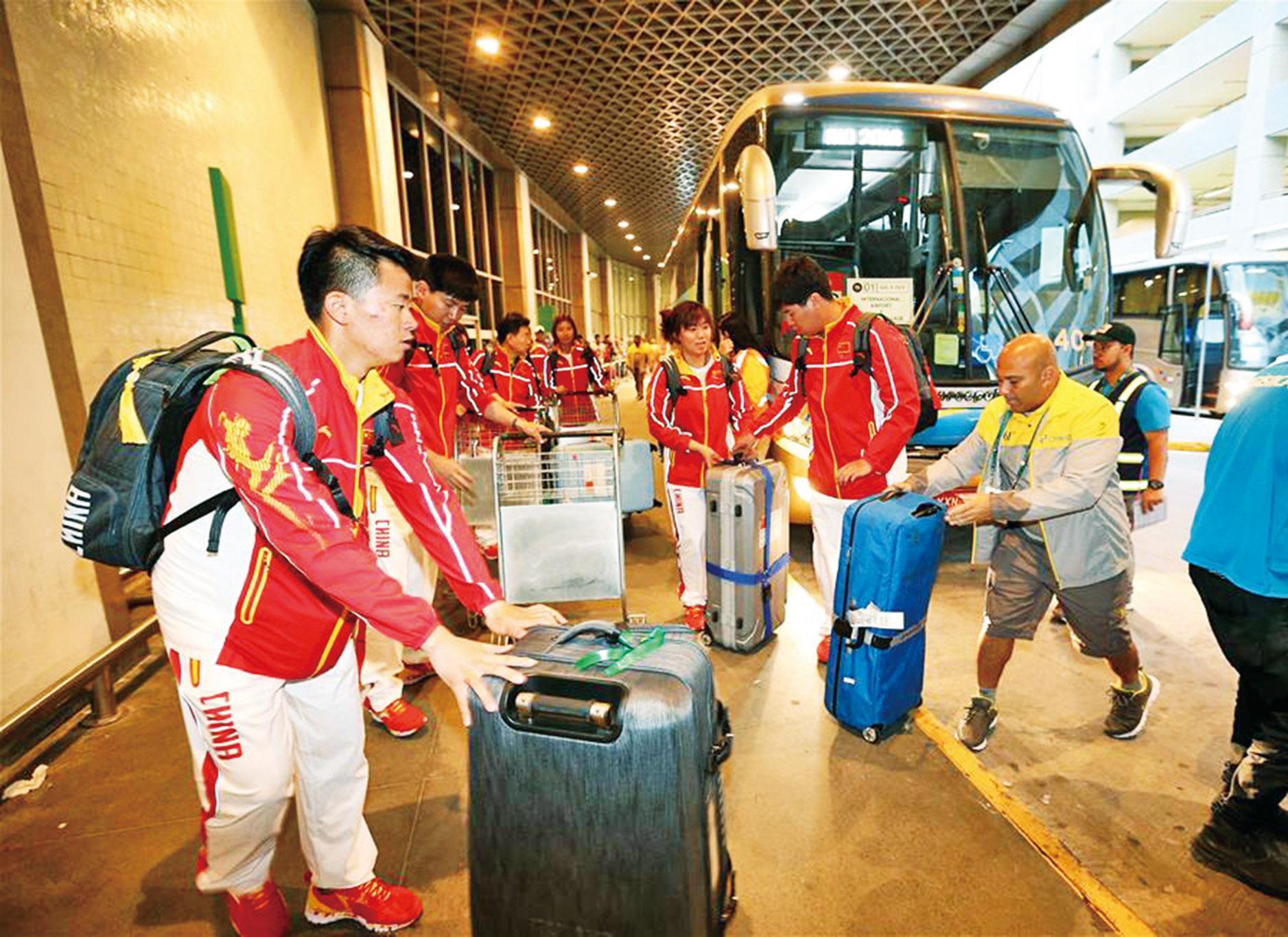 奧組委向被搶中國人道歉