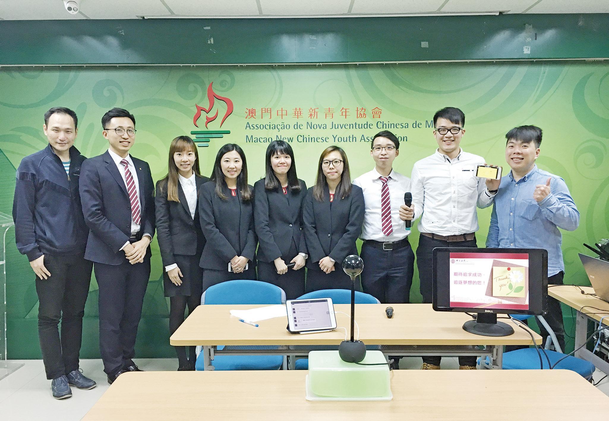 新青協助大專學生規劃職涯