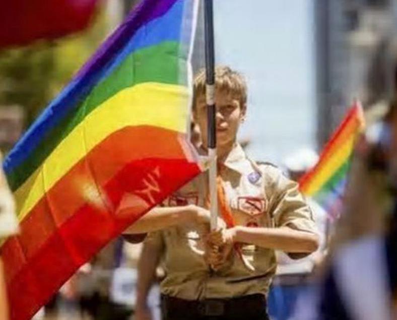 美男童軍准跨性別男童入隊