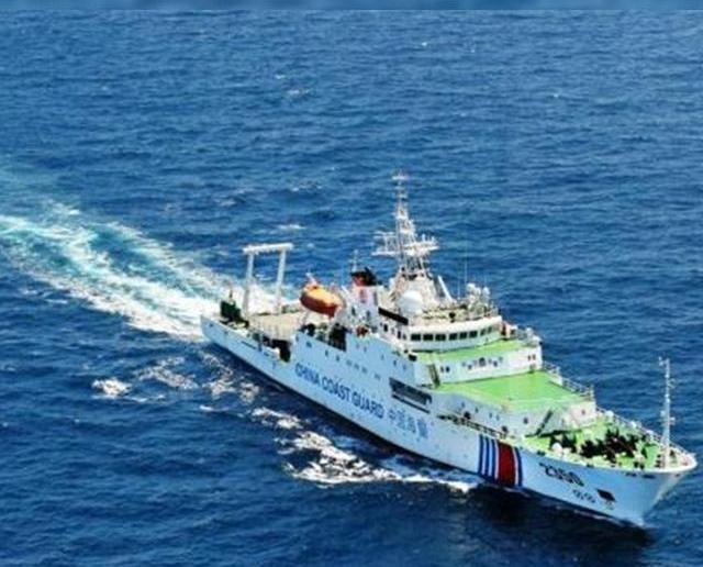 華海警船再巡釣魚島領海
