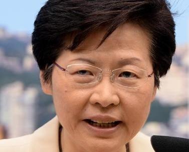 林鄭月娥當選香港第五任特首