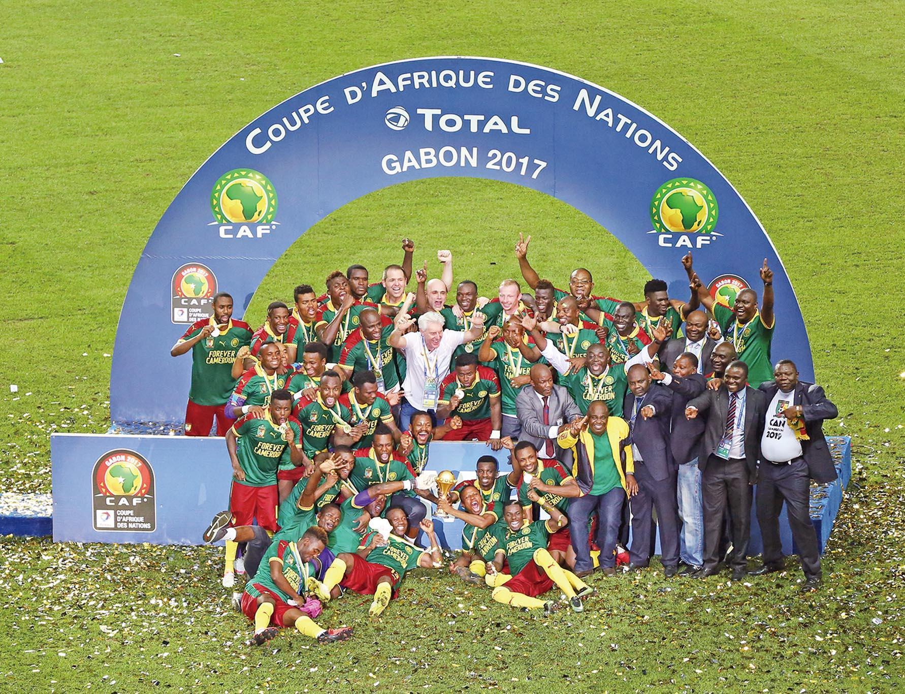 喀麥隆非洲國家盃稱王