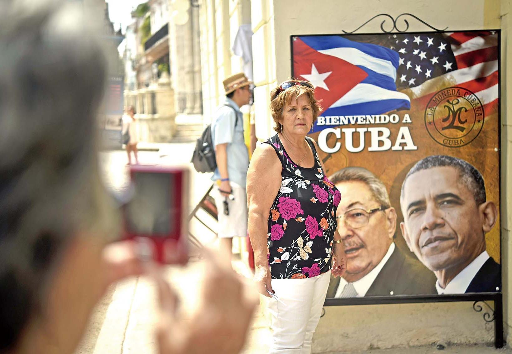 奧巴馬訪古巴世紀破冰