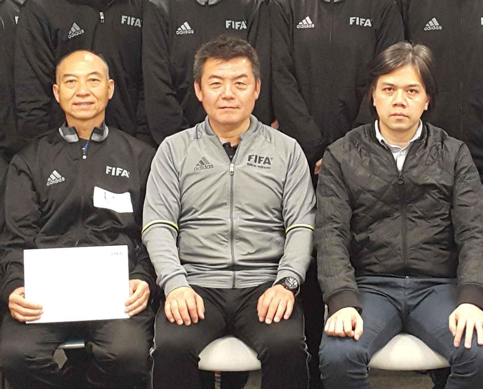 中日國際足協裁判親臨指導