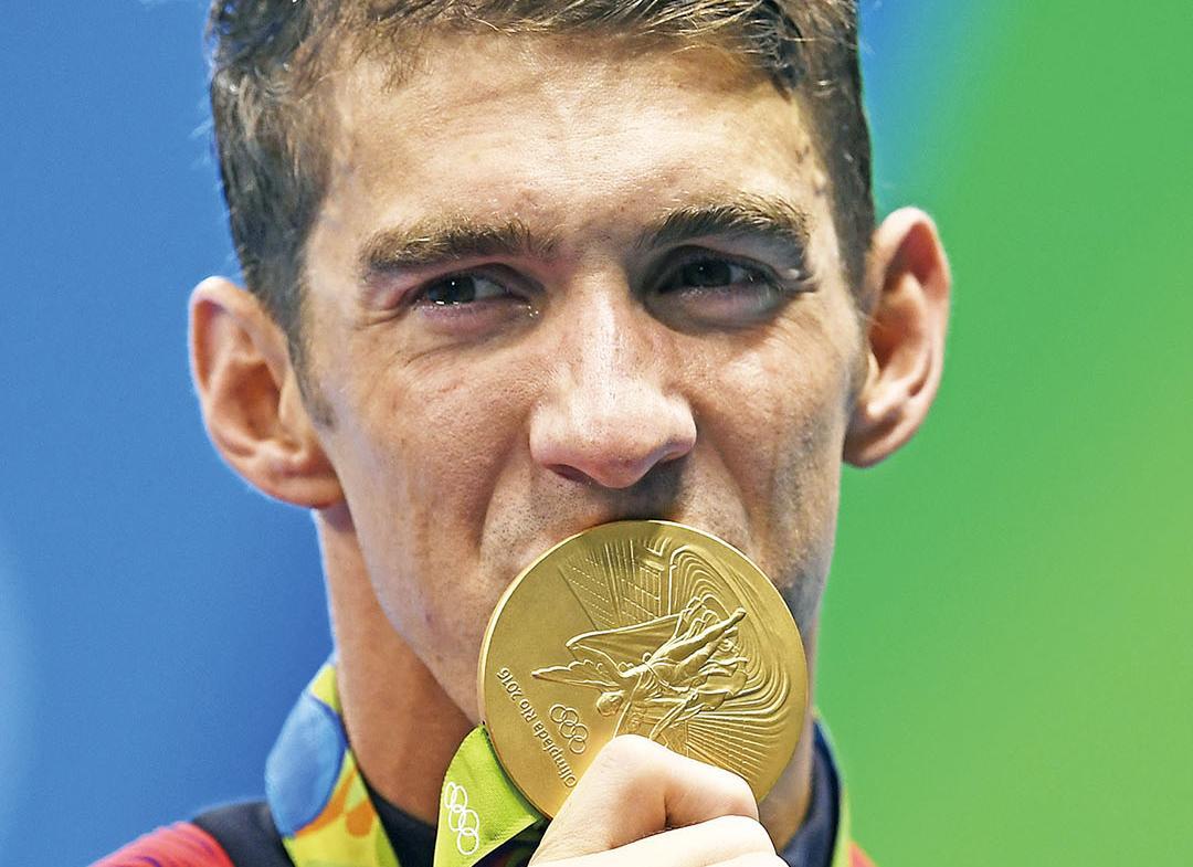 贏第19面奧運金牌