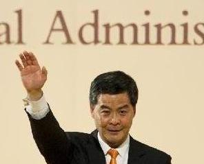 港特首選舉明年3月26舉行
