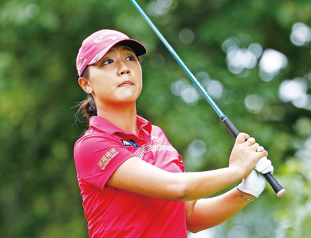 高爾夫球界的女高手