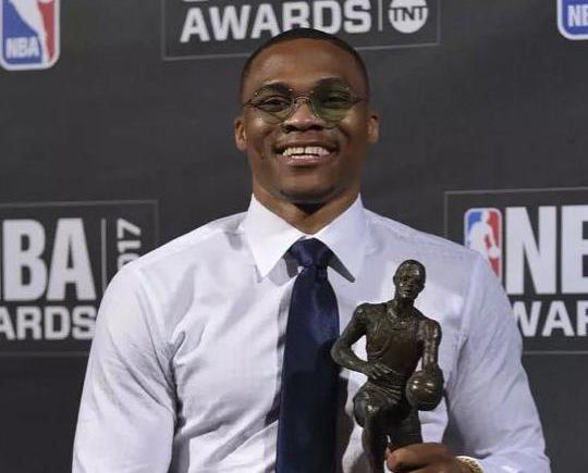 韋斯博克膺NBA常規賽MVP