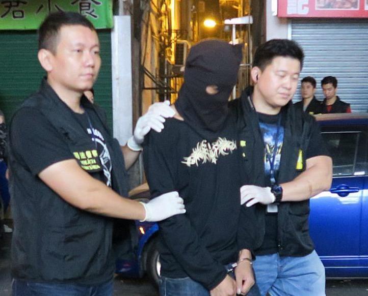 拘捕一名內地男子