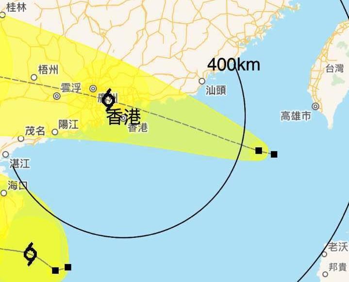香港天文台發一號戒備信號