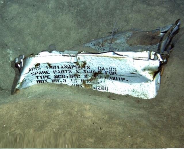 美二戰軍艦殘骸終尋回