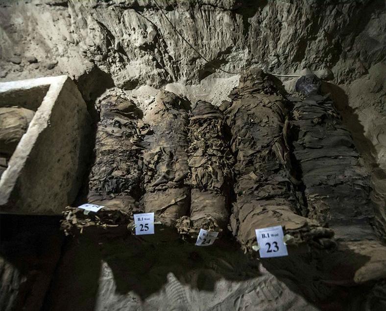 埃及挖到17具木乃伊