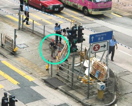 港歌和老街驚現炸彈
