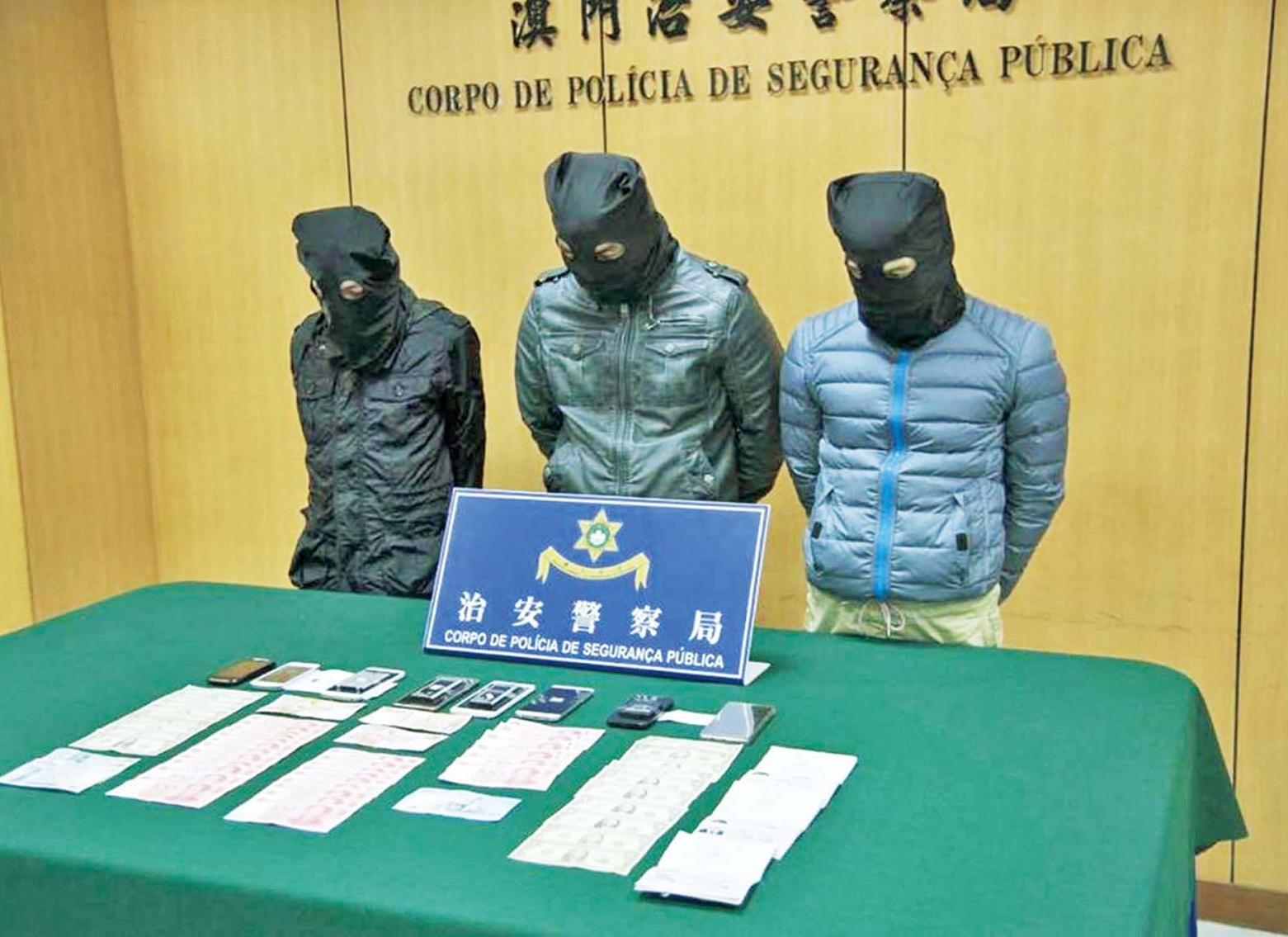 蒙古扒手黨三人被捕
